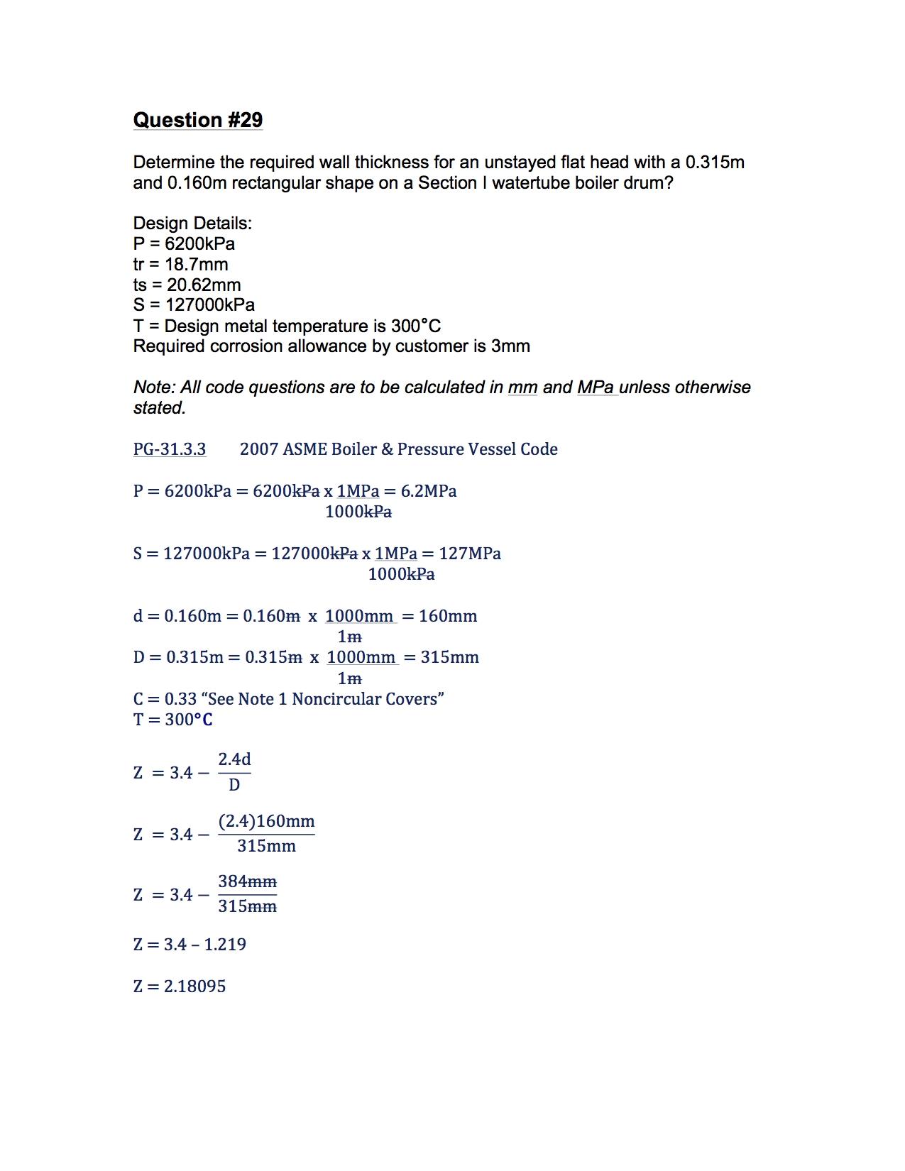 2A1 Solution #29 Part (1/2)