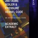 2007 ASME Boiler & Pressure Vessel Code